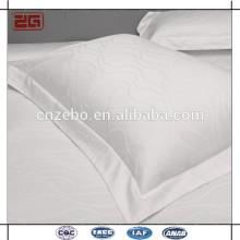 High Quality White Cotton 5cm Border Rectangle Pillowcases