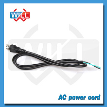 Fabrication en gros Câble de câble d'alimentation de qualité supérieure USA ac 110v pour nettoyeur de cheveux