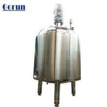 Réservoir de stockage d'eau liquide sanitaire en acier inoxydable de grande capacité