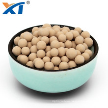 chemical molecular sieve 3a high water absorption for drying of natural gas zeolite 3a ball molecular sieve