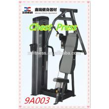 последний наклонной жим от груди машина/ коммерчески оборудование пригодности / пин-загружен фитнес-оборудования