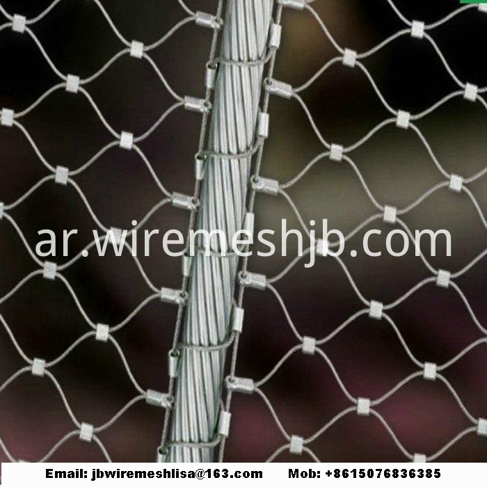 Flexible Stainless Steel Cable Mesh