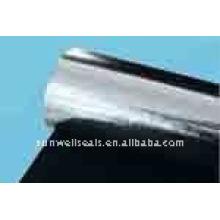Pano de fibra de carbono com alumínio