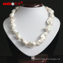 18-20mm Supper Large Baroque Freshwater Pearl Necklace for Women (E130133)