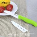 "3"" Ceramic Pocket Fruit Paring Knives with Sheath"