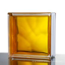 Inner color glass block