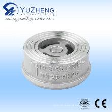 Válvula de retenção de aço inoxidável Wafer Fabricante na China