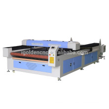 Shan dong 1530 máquina de corte a laser de tecido têxtil automática