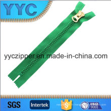 Yyc Plastic Zipper Big Teeth Zipper avec curseur personnalisé