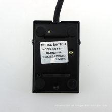 10A 110V / 220V Interruptor de Pedal de Pie Eléctrico Interruptor de Control de Pie Interruptor de pedal En Fs-1