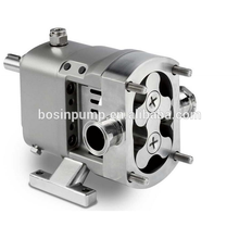 Electric horizontal or vertical sanitary stainless steel food grade liquid transfer pumps with self priming