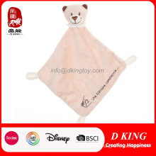 Bear Head Soft Baby Soothing Towel