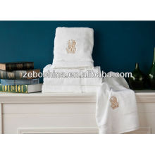 High quality different colors available deluxe 100% cotton wholesale pool towels