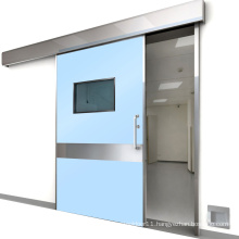 airtight level 8 automatic sliding hermetic door for operating theatre room