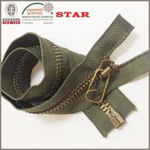 Metal Zipper (10# OPEN END H124)