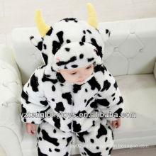 Caliente Invierno Promocional Plush Cow Baby Romper