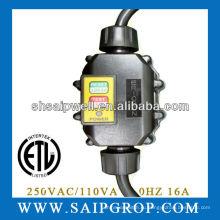GFCI Протектор для светильника для ванной комнаты