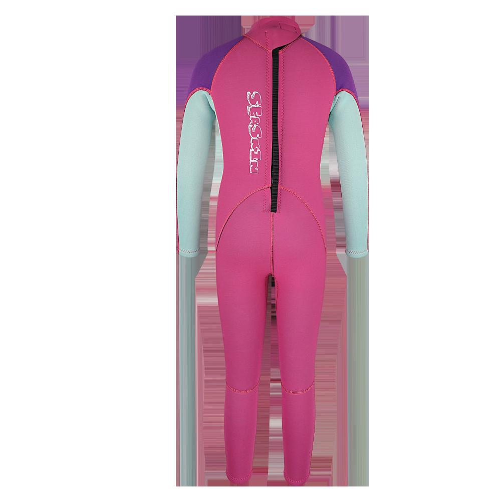 Seaskin Kids Back Zip Wet Suit