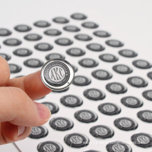 Promotional custom clear epoxy sticker printing