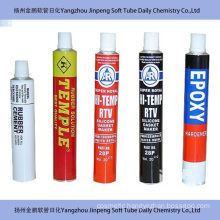 Collapsible Aluminum Tube for Glue and Rubber Cement