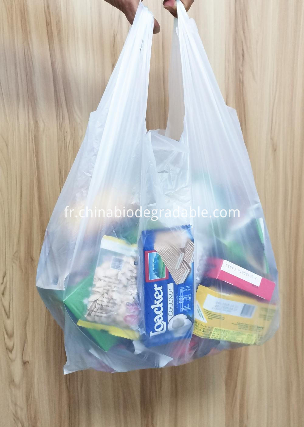 100% Biodegradable Shopping Grocery Plastic Bags