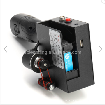 Handheld Inkjet Printers Machine For Expiry Date Mfg, Batch number, or logo