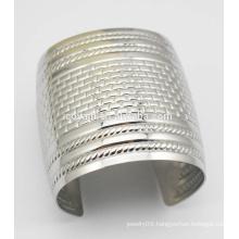 Fashion Engraved Texture Cuff Gothic Big Wide Bracelet Bangle