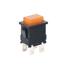 UL Illuminated Momentary LED Push Button Switch