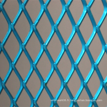 Feuille de métal déplié par différence de couleur