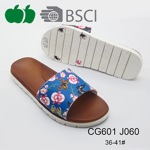 Good Quality Newest Hot Design Printing Ladies Beautiful Slippers