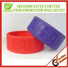 Fashional Style Top Quality 25MM Wide Silicone Wristband
