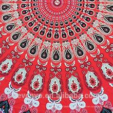 100% Polyester modische Premium-Runde Strandtücher für Erwachsene