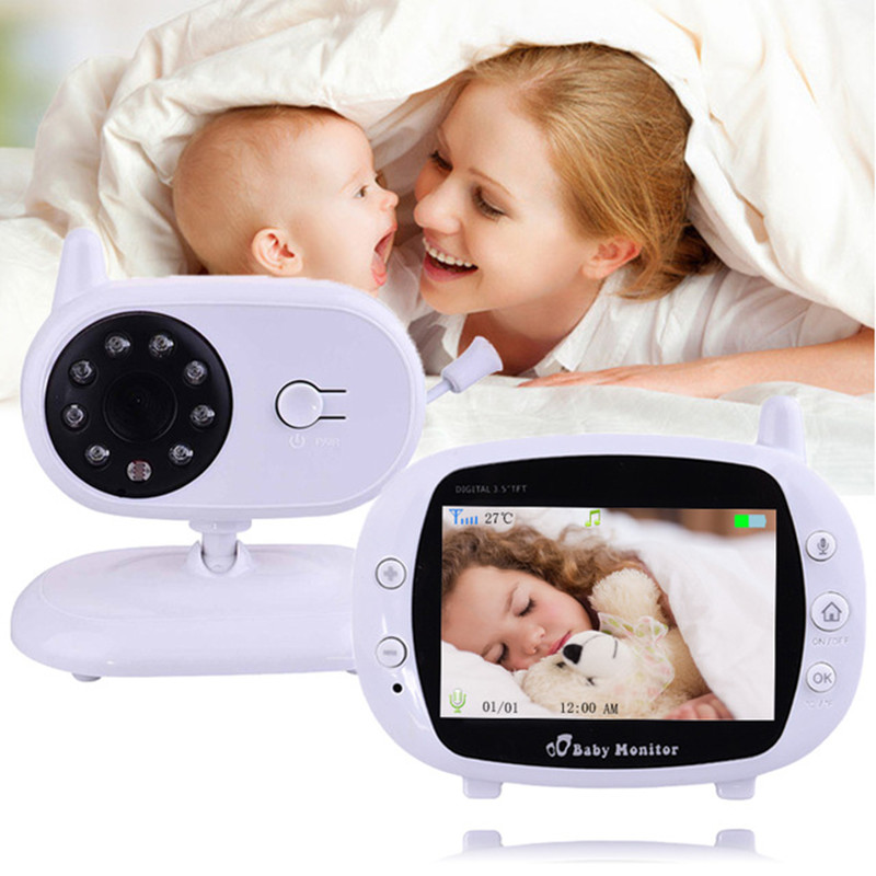 1 Baby Monitor For 2 Rooms