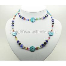 Habillage Hematite De Mode Avec Blue Pearl Shell