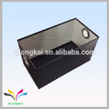 Embossing metal fancy storage box with iron