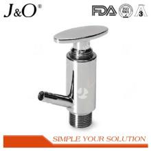 Válvula de amostragem sanitária em aço inoxidável
