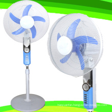 16 Inches 12V DC Stand Fan 5 Blade (SB-S5-DC16B)