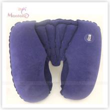 Удобная надувная надувная подушка для шеи из ПВХ 44 * 28см