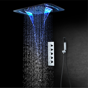 LED Shower Head Bathroom Shower Faucet Mixer