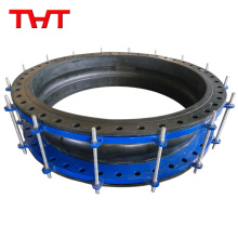 Safe handling usage water treatment ductile iron pipe fittings Dismantling Joint