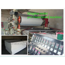 free foamed pvc board making machine