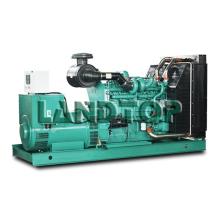 Type Yuchai Engine 50kva de générateur de cadre ouvert à refroidissement par eau