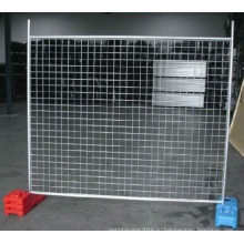 Горячего погружения Гальванизированная временный забор с низкой ценой Сделано в китайском заводе