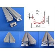 Perfil de alumínio LED para luzes LED Strip Decoração