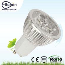 gu10 aluminium led light 4w led spotlight