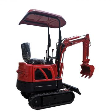 1.6 9hp 1.5t Ride On ديزل صغير 3ton Mini 1t 3 Tonne All Home Crawler 3.5ton Gasoline Nimi Excavator