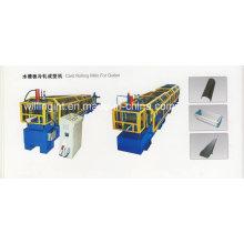 Rollformmaschine für Fallrohre aus Stahl