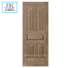JHK-Embossed Design Materail Red Walnut Venner डोर स्किन