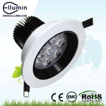 heatsink dimmable led downlight 12w ce rohs