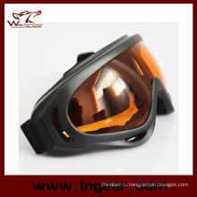 Прозрачный цвет пейнтбол очки X400 очки лыжные очки